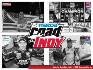 Mazda Road to Indy: 2012 Season Recap - Star Mazda Championship
