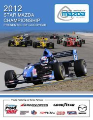 2012 Star Mazda Championship presented by Goodyear - Overview