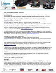 2012 Licensing and C.. - Star Mazda