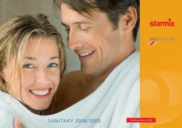 SANITARY 2008/2009 - Starmix