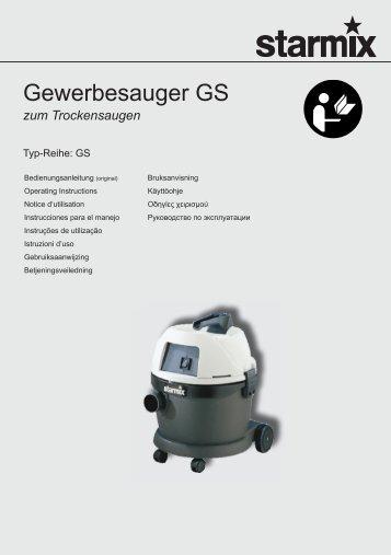 786575_01 GS Trocken Gebrauchsanleitung 032011.indb - Starmix
