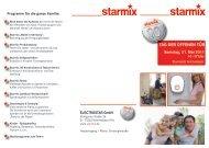 TAG DER OFFENEN TÜR Samstag, 21. Mai 2011 - Starmix