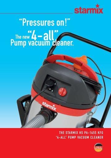 4-all Pump vacuum cleaner - Starmix