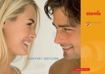 SANITARY 2007/2008 - Starmix
