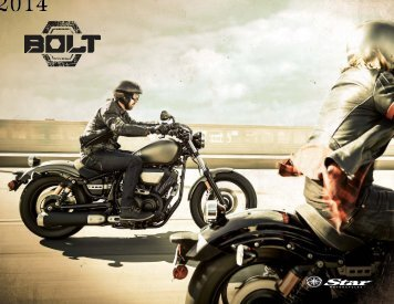 Download the 2014 Bolt Brochure - Star Motorcycles