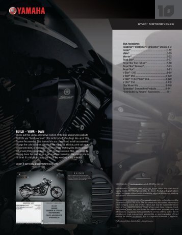 Download the 2010 Brochure - Star Motorcycles