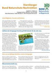 Ausgabe Nr. 10 - Bund Naturschutz in Bayern e.V. Kreisgruppe ...