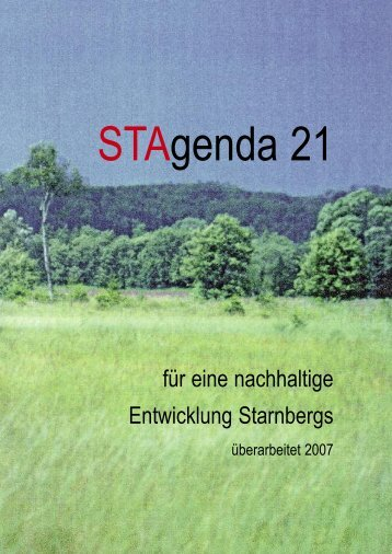 Leitbild - Stadt Starnberg