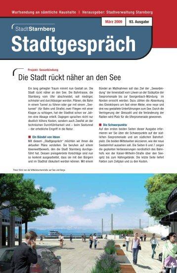 93. Ausgabe März 2009 (PDF) - Stadt Starnberg