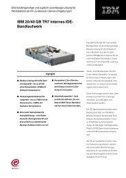 IBM 20/40 GB TR7 internes IDE - StarNet IT GmbH