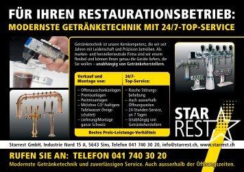 Flyer Modernste Getränketechnik mit 24/7-Top ... - Starrest GmbH
