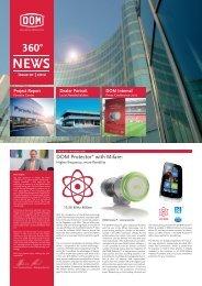 Newsletter 01 - DOM Sicherheitstechnik