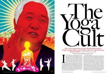 The Yoga Cult - Sabrina Rubin Erdely