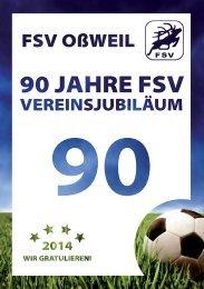 90 Jahre FSV  - Vereinsjubiläum