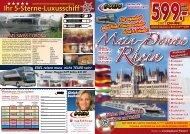 AUF dem mAiN- dONAU KANAL! - Domo Reisen GmbH
