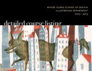Illustration Detailed Course Listing 2012-13 - Rhode Island School ...