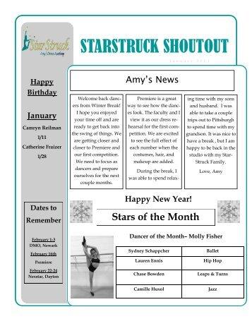 STARSTRUCK SHOUTOUT - StarStruck ADA