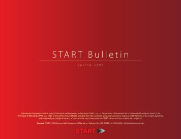 Bulletin - START - National Consortium for the Study of Terrorism ...
