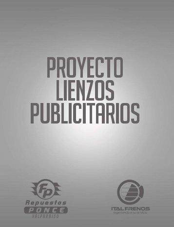 PROYECTO LIENZOS PUBLICITARIOS