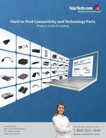 Product Guide & Catalog - StarTech.com