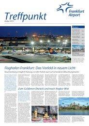Flughafen Frankfurt: Das Vorfeld in neuem Licht - Startfrei