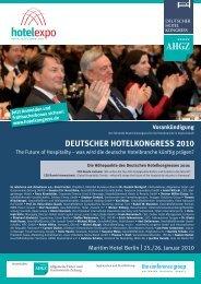 DEUTSCHER HOTELKONGRESS 2010