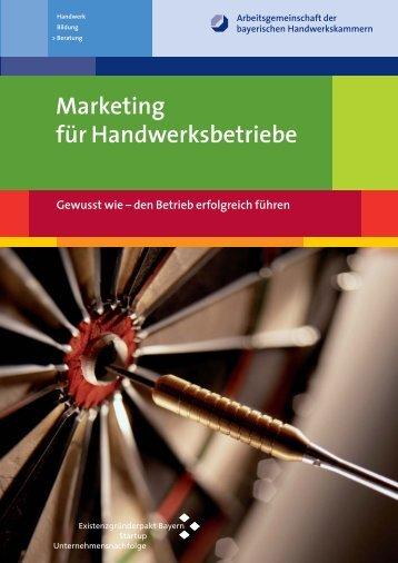 Marketing für Handwerksbetriebe