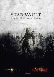 Teaser webbversion - Star Vault AB