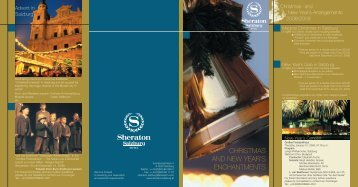 christmas and new year's enchantments - Starwood Hotel Directory