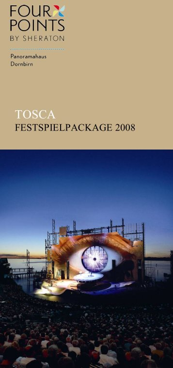 FESTSPIELPACKAGE 2008 - Starwood Hotels & Resorts