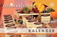 Kulinarischer Kalender 2008 - Starwood Hotel Directory