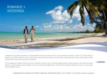 Wedding Flyer (no price) Edited AMY - Starwood Hotels & Resorts