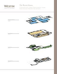 download all floor plans (pdf) - Starwood Hotels & Resorts