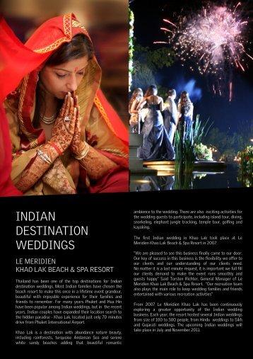 Indian Wedding Intro - Starwood Hotels & Resorts