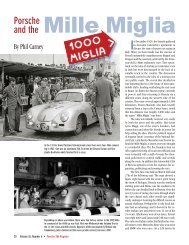 Porsche and the Mille Miglia - Stasher.us