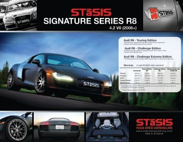 R8 4.2 V8 Signature Series - STaSIS