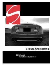 Exhaust Install: B8 S5 4.2 - STaSIS