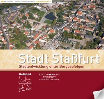 Stadtentwicklung unter Bergbaufolgen - Stadt Staßfurt