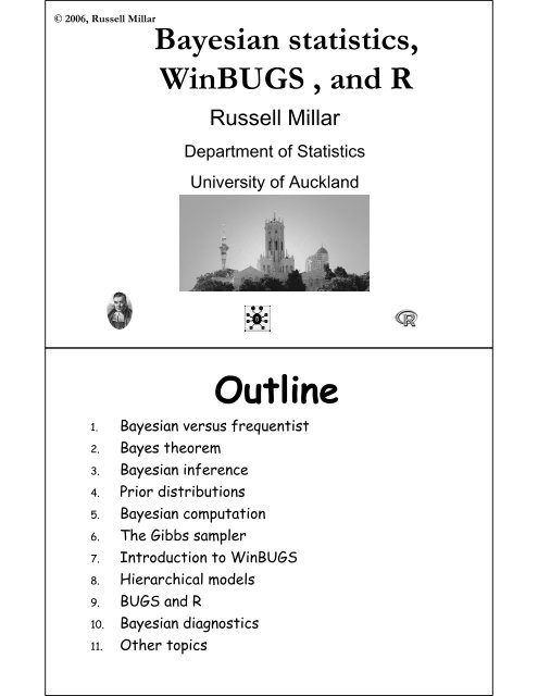 Bayesian - Department of Statistics - University of Auckland