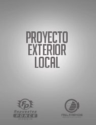PROYECTO EXTERIOR LOCAL