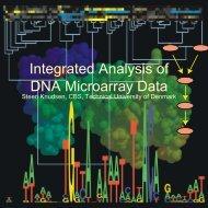 Bioinformatics Analysis of DNA Microarray Data - Statistics