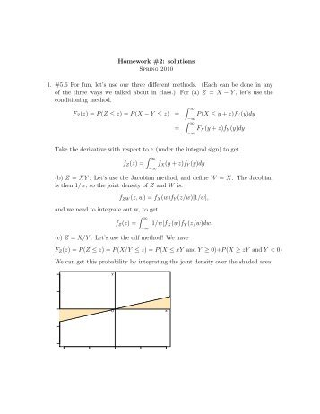 Solution to Homework #2