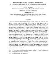 Effects of Bagging and Bias Correction on Estimators Defined by ...