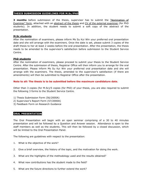 Tcd phd thesis submission