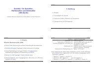 Handout (bis Folie 374) zur Vorlesung als pdf ... - Institut für Statistik