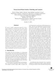 Tensor-based brain surface modeling and analysis - Department of ...