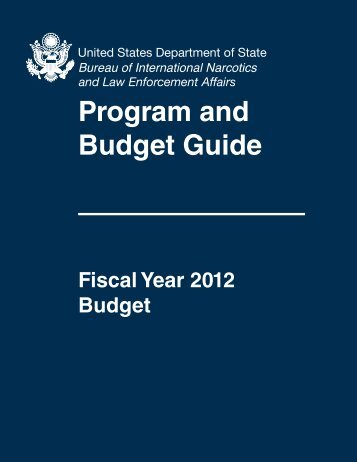 Program and Budget Guide - US Department of State