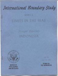 Straight baselines: indonesia