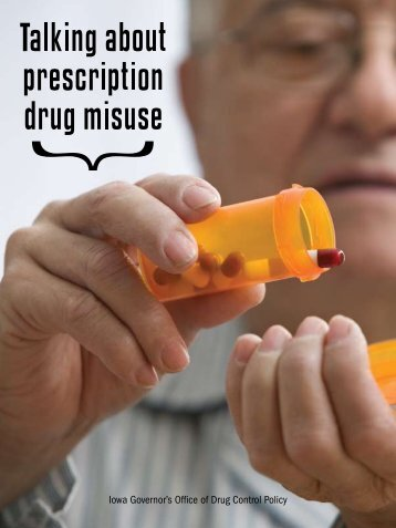 Prescription Drug Abuse Brochure