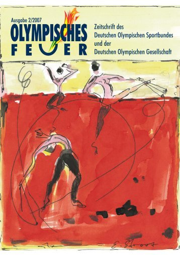 Von Steffen Haffner - Deutsche Olympische Gesellschaft